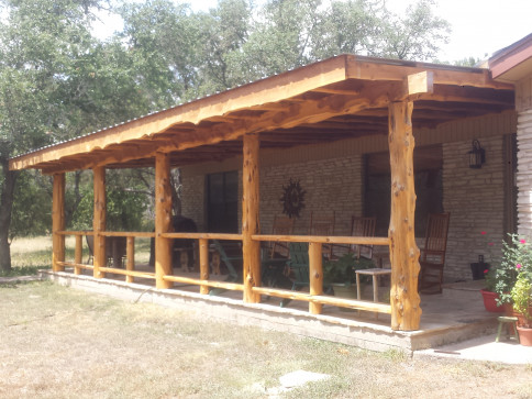 Patio Construction, Cover Installation: Dripping Springs